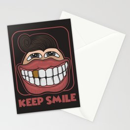 KEEP SMILE Stationery Cards