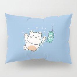 Nevermind Cat Pillow Sham
