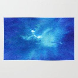 Blue Powder Rug