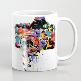 Paint DSLR Coffee Mug