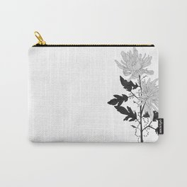 November's Flower Carry-All Pouch