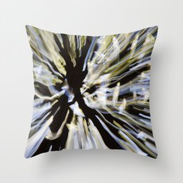 Entering another dimension Throw Pillow