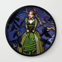 Inner Labyrinth Wall Clock