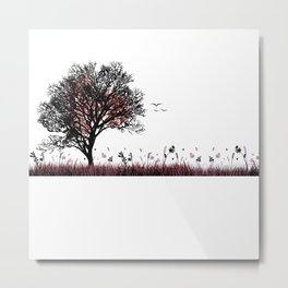 Peace and nature Metal Print
