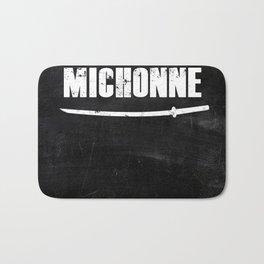 In a World full of Princesses, be a Michonne Bath Mat