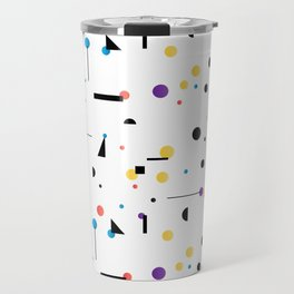 Abstract seamless pattern like Kandinsky Travel Mug