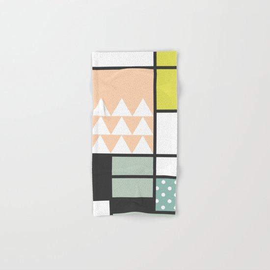 Summer Mondrian 2016 Hand & Bath Towel