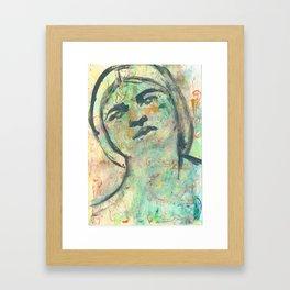 Tina friend of Frida(Khalo) Framed Art Print