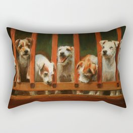 The Dogs of Linden Rectangular Pillow