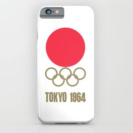 1964 Summer Olympics Tokyo iPhone Case