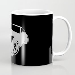 Nissan 350Z - silver - Coffee Mug
