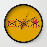 gizmo Wall Clocks featuring Gizmo by FilmsQuiz
