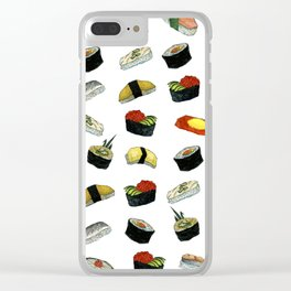Sushi Ala Carte (Sushi Arakaruto) Clear iPhone Case