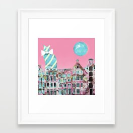The Cat of Amsterdam Framed Art Print