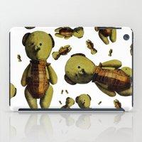 teddy bear iPad Cases featuring Teddy-bear by Кaterina Кalinich