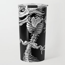Axolotl Skeleton Travel Mug