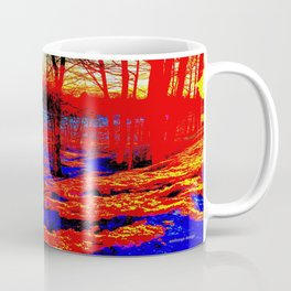 Snow Fire Coffee Mug