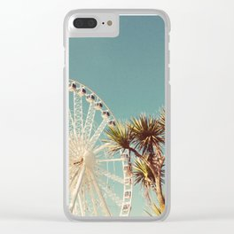 The Height of Summer Clear iPhone Case