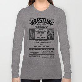 #1 Memphis Wrestling Window Card Long Sleeve T-shirt