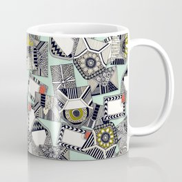 mail scatter mint Coffee Mug