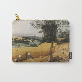 Pieter Bruegel The Elder - The Harvesters Carry-All Pouch
