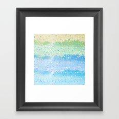 Spring Splatter Framed Art Print
