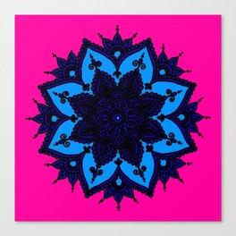 Kids Mandala Canvas Print