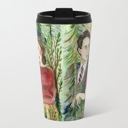 Twin Peaks - Audrey Horne Agent Cooper Travel Mug
