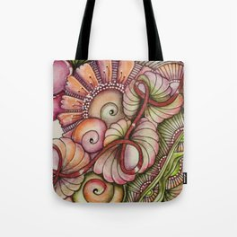 Summer Blooms Tote Bag
