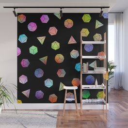 Platonic solids II Wall Mural