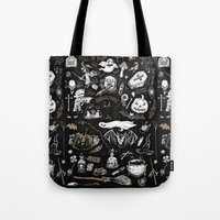 witchcraft Tote Bags featuring Witchcraft by pakowacz