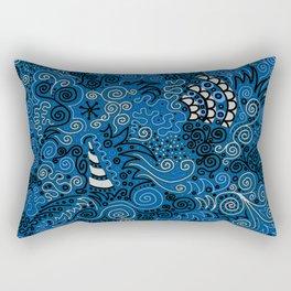 Hey, Beautiful Rectangular Pillow