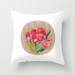 Flor II (Flower II) Throw Pillow