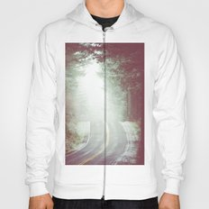 Fog Forest - Green Wanderlust Road Trip in the Mountains Hoody