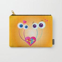 Garden Snail Love Carry-All Pouch