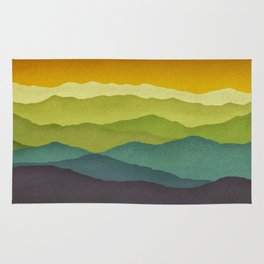 Mountain Colors Rug