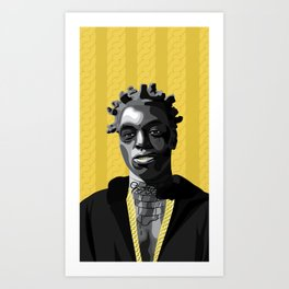 Kodak Black Art Print