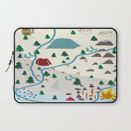 summer camp Laptop Sleeve