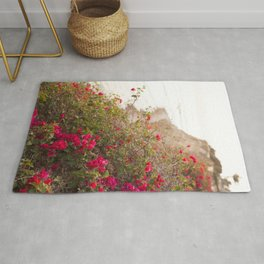 Seaside Bougainvillea Rug