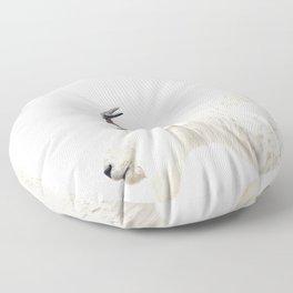 NORDIC MOUNTAIN GOAT Floor Pillow