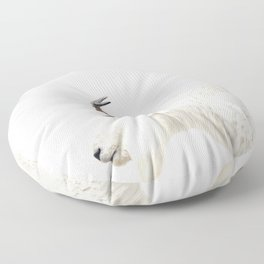 NORDIC MOUNTAIN GOAT Floor Pillow