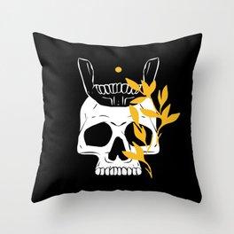 King of No Body - Bright Idea Throw Pillow
