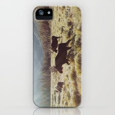 Three Meadow Moose iPhone (5, 5s) Slim Case
