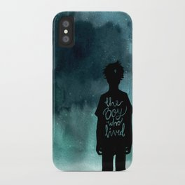 the boy iPhone Case
