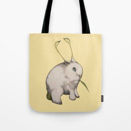 alien rabbit Tote Bag