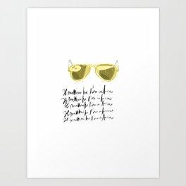 Il mattino ha l'oro in bocca Art Print
