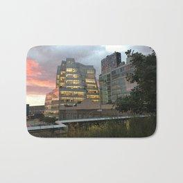 Sunset from the High Line Bath Mat