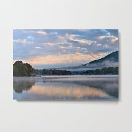 Pastel Dawn in the Adirondacks Metal Print