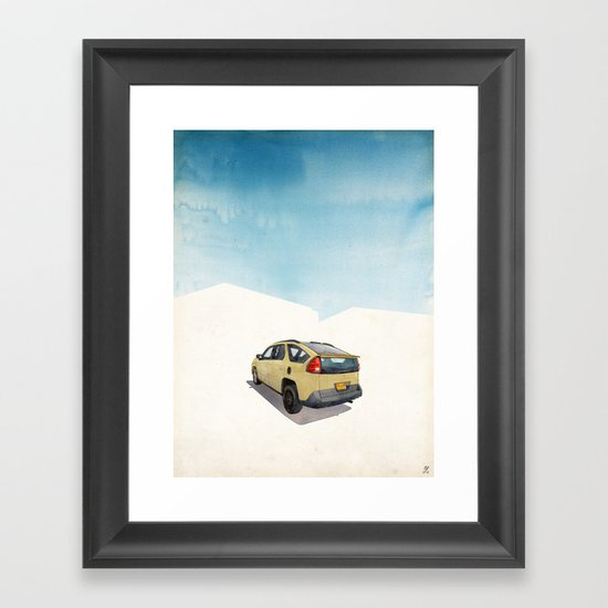 Breaking Bad (Land of Enchantment) Framed Art Print