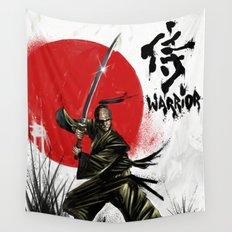 Samurai Warrior Wall Tapestry